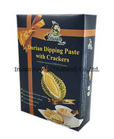 Durian Dipping Paste with Crackers