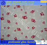Sell silk print glass,decorative glass,etched glass,pattern glass