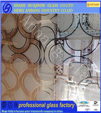 Wholesale glass door: 4mm 5mm Frosted Acid Etched Art Glass,Decorative Glass,Door Glass