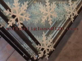 window glass: Sell painting window glass(insulated glass)