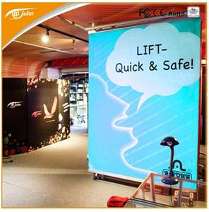 Wholesale for cars: Loftia Outdoor Banner Lift Free-Standing Display System (FD801)