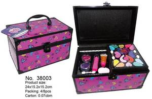 Wholesale cosmetic box set: Beauty Kids Makeup in Alumium Foil Made in China
