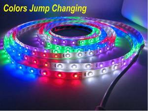 Wholesale led controller: Colors Jump Changing 3528 LED Strip,Duilt-in Controller ,IP65 Waterproof,5 Colors