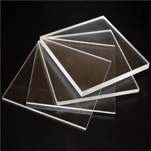 Wholesale acrylic cosmetics display rack: Transparent Acrylic Sheet