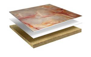 Wholesale natural light: Light Weight Natural Stone Compostie Tile