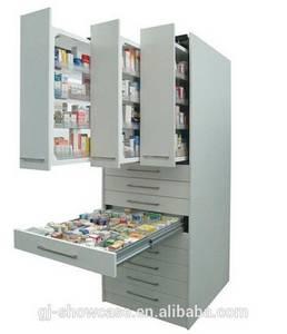 Wholesale supermarket display shelving: Best Price Steel Locker System Display Racks Functional Pharmacy Cabinets
