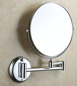 Wholesale Makeup Mirror: 1088 Double Side Wall Mounted Shaving Mirror Bathroom Mirror