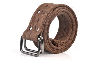 Wholesale Fabric Belts: Double Rings Casual Belt