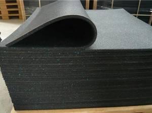 Wholesale rubber mat: 1mx1m Gym Rubber Mats Flooring