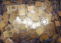 Pentium Pro Gold Ceramic CPU Scrap High Grade CPU Scrap, Computers Cpus / Processors/ Chips Gold Rec
