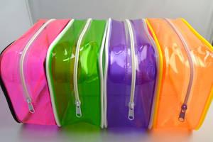 Wholesale travel bag: Transparent PVC Travel Cosmetic Bottle Bag