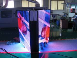Wholesale cabinet display: Outdoor P8 Front Open Cabinet LED Advertising Display