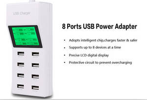 Wholesale home phone: 2016 New 8 USB HOME CHARGER for PHONES