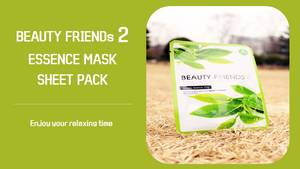Wholesale natur product: Beauty Products Natural Face Mask Sheet (BEAUTY FRIENDS2, 23g) Whitening OEM