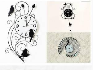 Wholesale Wall Clocks: Wrought Iron Clock