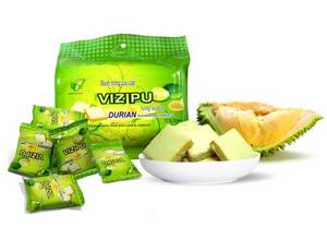 Wholesale fragant: VIZIPU Durian Cream Egg Cookies