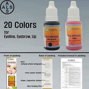 Wholesale Tattoo Ink: Natural Pigment Permanent Makeup Pigment & Tattoo Ink Permanent Makeup Ink