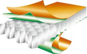 Wholesale galvanized iron sheet density: Aluminum Honeycomb Sandwich Panel
