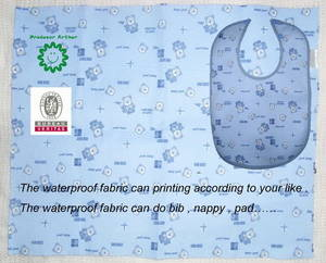 Wholesale Baby Bibs: waterproof printed bib