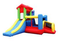 Cubby Club House Bounce House Combo