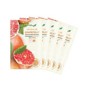 Wholesale maskpack: ALWAYS21 Nature Refresh Grapefruit Mask Sheet