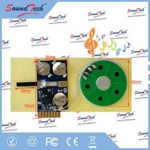Wholesale magazine printing: Logic ICs Type 10 Sec Greeting Card Sound Module