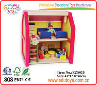 Wooden Doll House Play House Kindergarten