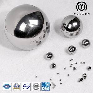 Wholesale chrome paint system: Yusion AISI 52100 Chrome Bearing Steel Ball (GCR15) for Bearings