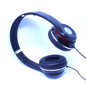 Wholesale ip phone: Collapsible Black Music Headphone Hifi Stereo Earphone with Microphone for PC Mobile Phone Tablet IP