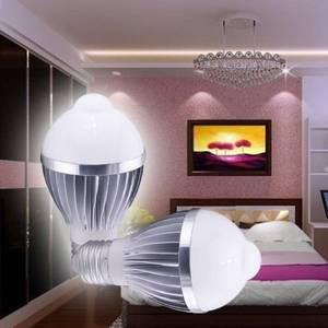 Wholesale auto sensor: PIR E27 5W LED Bulb Human Infrared Auto Motion Sensor Light White Lamp AC85-265V