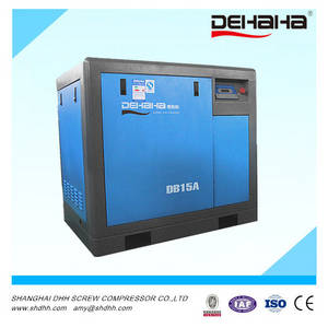 Wholesale screw air compressor: 15hp Belt Driven Screw Air Compressor