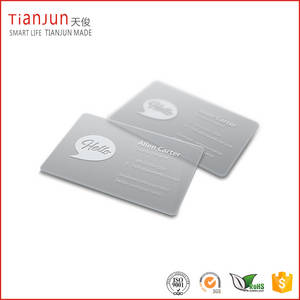 Wholesale pvc strip china: Printing PVC Business Clear Card