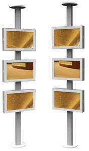 Wholesale coin change dispenser: DT61 Triple Screen Outdoor Digital Signage