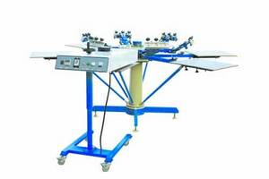 Wholesale screen printing machine: Manual Carousel Screen Printing Machine