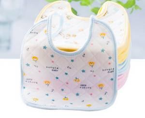 Wholesale Baby Bibs: Baby Bib Cotton Pinafore 3 Layer Cotton Carter's Burp Cloth