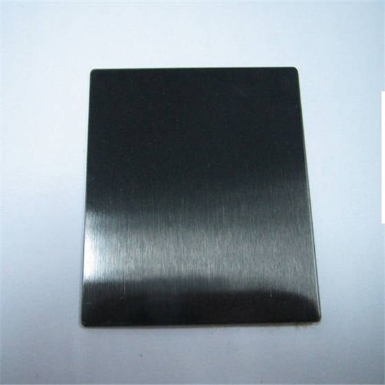 Sell 304 Black Stainless Steel Sheet No 4 Finish Id