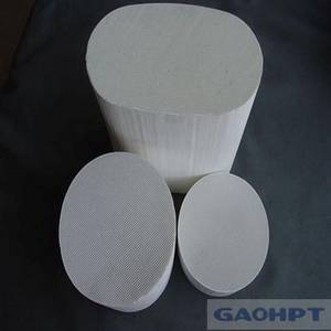Wholesale emission test equipment: Exhaust Honeycomb Ceramic Substrate Catalyst for Car From China