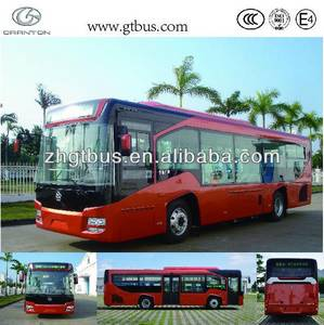 Wholesale cng bus: Hot Sale 10.5m Granton LNG City Bus GTZ6107 Passenger Bus