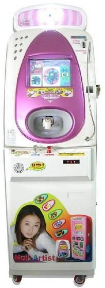 Vending Typed Nail Art Printing Machine.
