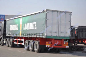Wholesale flatbed side curtain: New 40T Curtainer Side Trailer,Curtainer Side Trailers for Sale