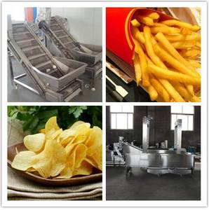 Wholesale wafer biscuit: Natural Potato Chips Production Line