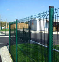 Extraordinary Galvanized 3D Curved Wire Mesh Fence