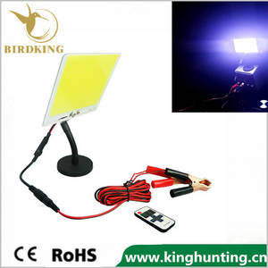 Wholesale led controller: 110W Outdoor Lantern Portable Flood Light Lamp LED 12V Camping Hiking Torch Remote Control