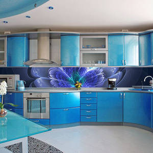 Wholesale wallpaper: Custom Personalised Kitchen Vinyl Wall Wallpaper Decal / Waterproof Picture, Photo Sticker Print /