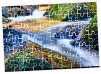 Custom Personalized Puzzle Pieces / Rectangular Puzzles Photo Transfer / Family Game 3