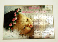 Custom Personalized Puzzle Pieces / Rectangular Puzzles Photo Transfer / Family Game 4