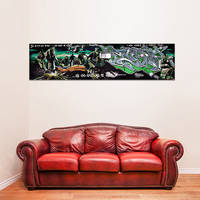 Banksy Fragile Silence Canvas Print / Poster Military Solders Printing Room Decor / Wide Street Art  4