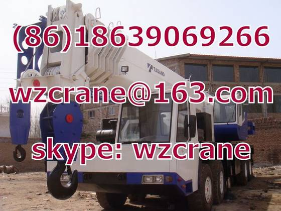 used mobile crane japan: Sell used tadano GT-900XL 90 Ton truck mobile crane cheap japan