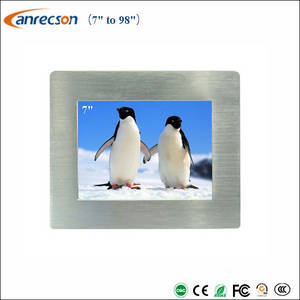 Wholesale panel pc: 7 Inch Industrial Touch Panel PC All in One