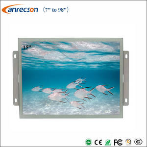 Wholesale lcd touch screen monitors: 15 Inch Industrial Open Frame Touch Screen LCD Monitor